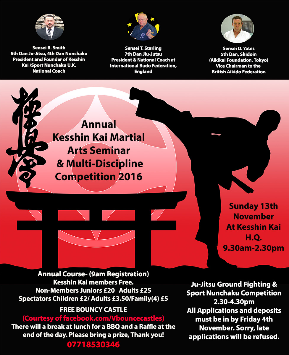 19th Kesshin Kai Annual Seminar